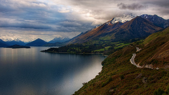�������, queenstown city, ����, new zealand, ������, hd wallpapers, ������, ������, ����������, nikon d3x, ����, ���� ��� �������� �����, ������, ��������