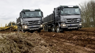 actros, �����, mercedes-benz, ���������, caterpillar, ���������, ���������