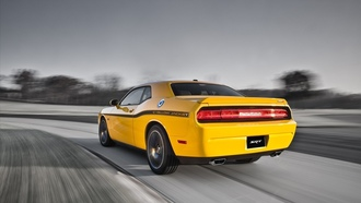 392, yellow, додж, srt8, dodge, challenger, jacket