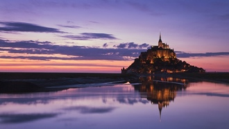 normandy, �����, ���� ��������� �������, �����, ���������, mont saint-michel, ����