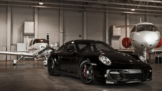 �����, �����, black, porsche, turbo, ������, �����, 360 three sixty forged, 997