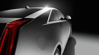 2011, cadillac cts coupe, бок