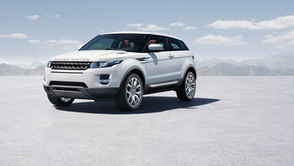 фон, land rover, evoque, rr