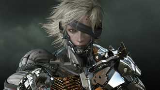 games, raiden, metal gear solid, rising