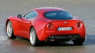 alfa romeo, �������, red car