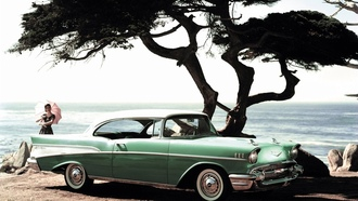 bel air, ������, ����, �������, chevrolet, sport coupe