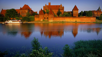 ������, poland, in, �����, castle, �����