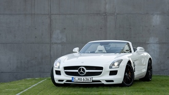 ����, cars, white, mercedes sls, mercedes