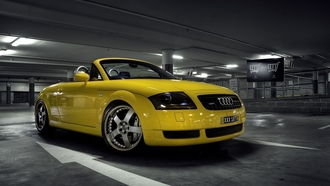 roadster, � ����, parking, cars wall, auto, �������, 5v turbo, auto wallpapers, audi wallpapers, tt, cars, 1.8, ���� ����, ��������