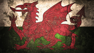 flag, welsh, ����