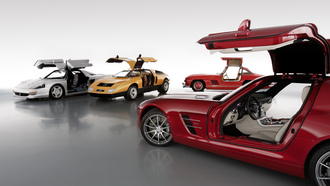 ����, ������, cars, sl-2, amg, ����, ��������, mercedes, sls, c112, 300, �����, �����, �������, wallpaper, c111