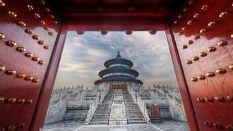 китай, temple of heaven, восток, храм