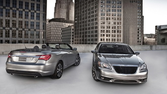 chrysler 200 s, кабриолет, америка, крайслер, парковка, дома