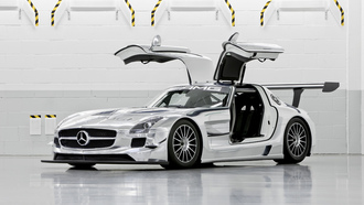 gt3, chrome, sls, mercedes-benz, amg