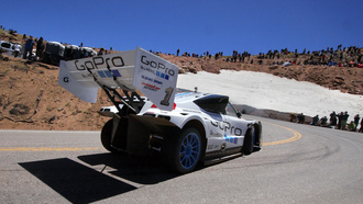 гонка pikes peak international hill climb, sx4, антикрыло, трасса, hill сlimb special