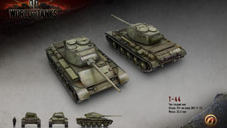 wargaming, world of tanks, �-44