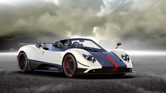 zonda, тачки, pagani, auto wallpapers, асфальт, cinque-roadster, авто фото, карбон, cars, авто обои