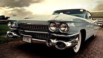��������, cars, auto, ���� ����, cadillac, coupe, cars wall, classic, 1959, deville, wallpapers