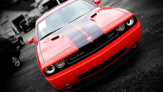 challenger, dodge, ��������, �����, srt-8