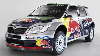 red bull, rally, ралли, irc, fabia, шкода, skoda, фабиа, super 2000