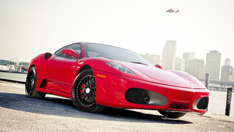 f-430, miami, ferrari, florida, red