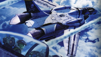 macross zero, vf-0 phoenix, u.n. spacy, самолет