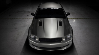 mustang, ford, salien