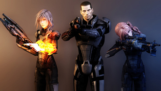 �������, final fantasy, lightning , �������, ���, ������, mass effect