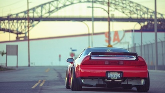 desktop, ����������, tuning, red, wallpapers, car, acura, automobile, nsx, jdm