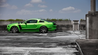 ���������, ������� ���� 302, ����, green, ford, mustang boss 302