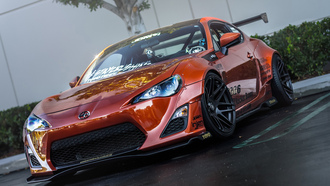 orange, ��-�, tuning, ������, �����, front, fr-s, ���������, scion