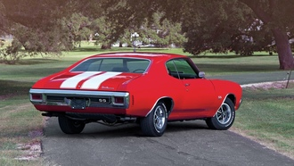 �������, chevrolet, ������, 1970, ����, chevelle, hardtop, coupe, ss, 454, ls6