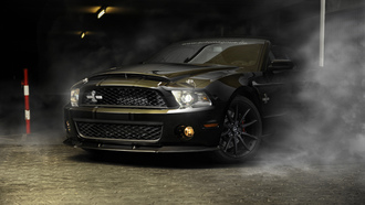 sportcar, mustang, ���, ����, shelby, ������, ford, ������, gt500