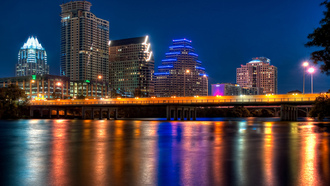 city of color, texas, остин, austin, usa, техас, ночь, night