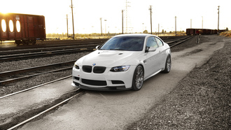 m3, e92, bmw, �������� ������, �����, ���, sunset.railway, �����, white