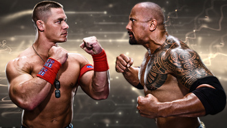 �����, the rock, wwe, john cena, ���� ����, ����� �������, dwayne johnson