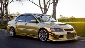 mitsubishi, car, desktop, 9, tuning, ����������, evolution, lancer, wallpapers