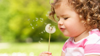 beautiful, child, happiness, mode, cute, little girl, , flower, spring, joy, children, flower