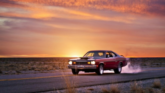 ������, plymouth duster, �����, muscle car