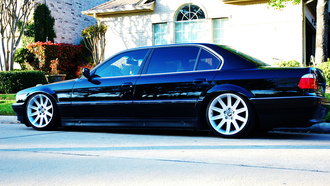 wallpapers, e38, ���, ����, 7, car, bmw