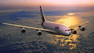 �������, �����, airbus, �������, a380, �����, ����, � �������