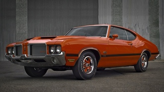 coupe, cutlass, oldsmobile, ����������, 1972, �������, ����, 442, holiday