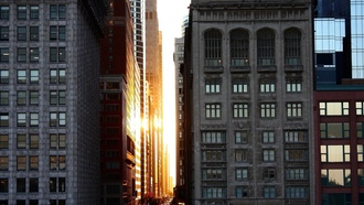 national geographic, architecture buildings, downtown, sunset, chicago
