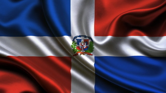 flag, �������������, ����, ����������, dominican republic