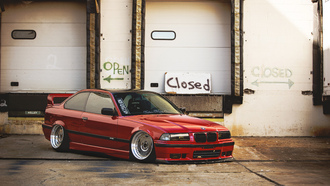 ���, ������, e36, ����, red, �������, tuning, bmw