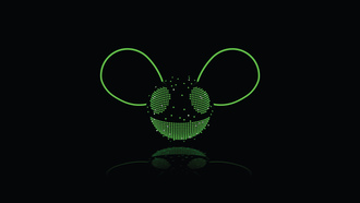 deadmau5, ������, joel thomas zimmerman, ����������, green, black