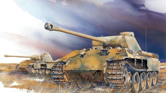 �����, panther ausf. d., ��������, ������, ���, ����, ww2, �����