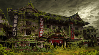 ruin, tokyo, japan, post apocalyptic