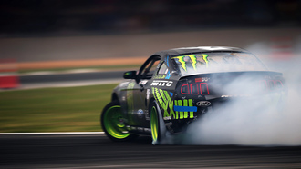 mustang, rtr, ford, vaughn gittin jr, monster energy, formula drift, team, smoke, motion