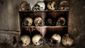 superbowl, football, helmets